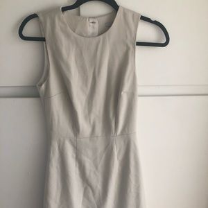 H&M Ivory dress size US 4 EUR 34